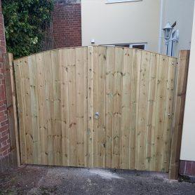 Bespoke Double Garden Gate Hadleigh