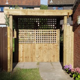 Wooden Pergola Needham Market